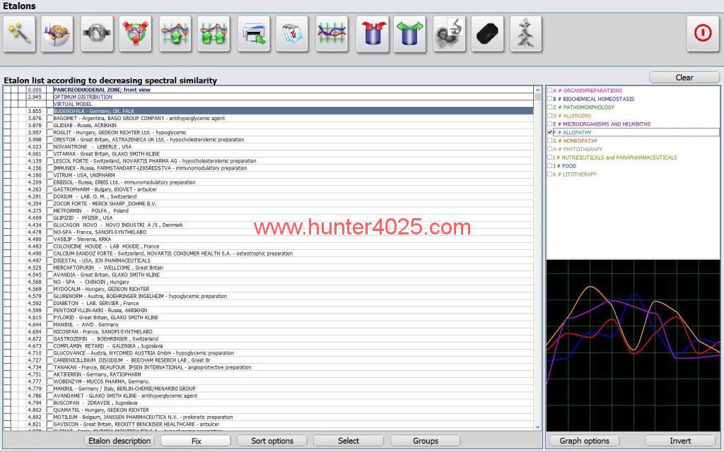 NLS System Metatron Hunter Metatron Bioresonance Health Scan And Therapy 05